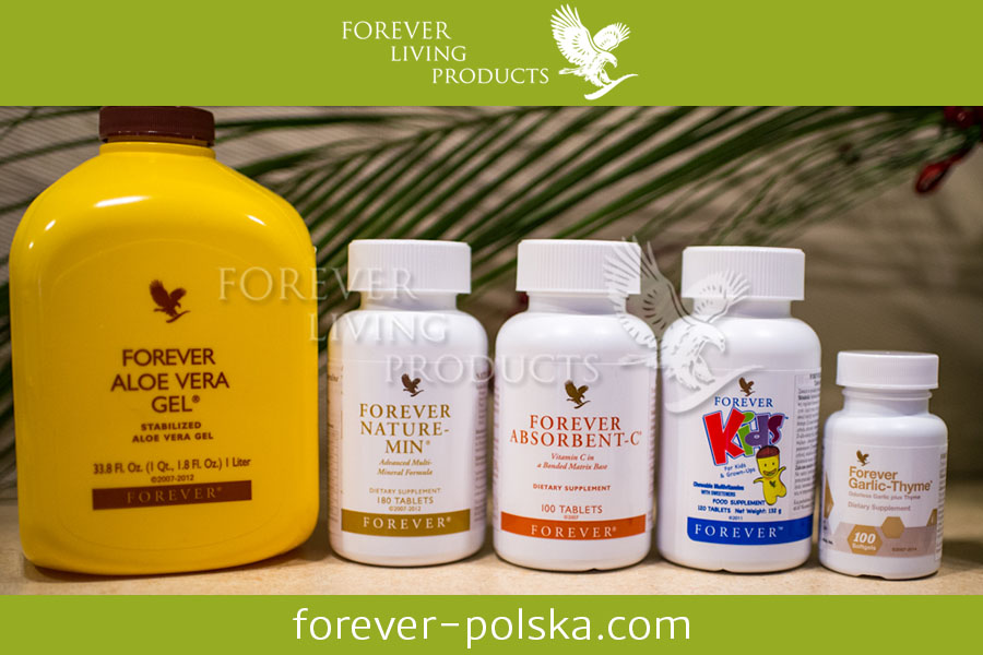 Dietetyczny produkt Fover Aloe Vera Gel