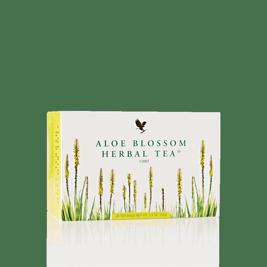 Herbatka ziołowa z kwiatem aloesu Forever