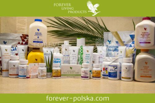 Naturalne produkty dla zdrowia i urody Forever