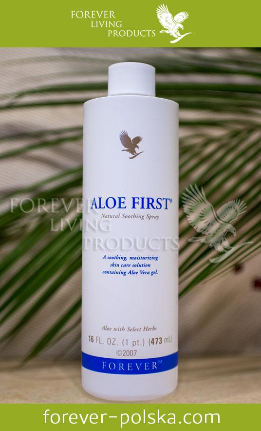 Sok aloesowy Aloe First Spray Forever opinie