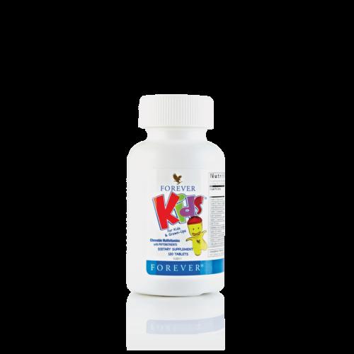 Suplement diety multiwitaminy dla dzieci z fitoskładnikami Forever Kids